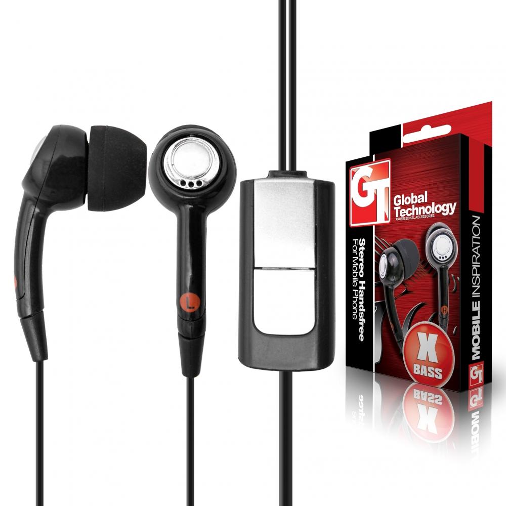 GT HF Stereo HQ microUSB-s fülhallgató mikrofonnal