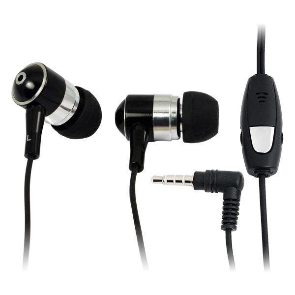 LogiLink Sztereó fülhallgató mikrofonnal