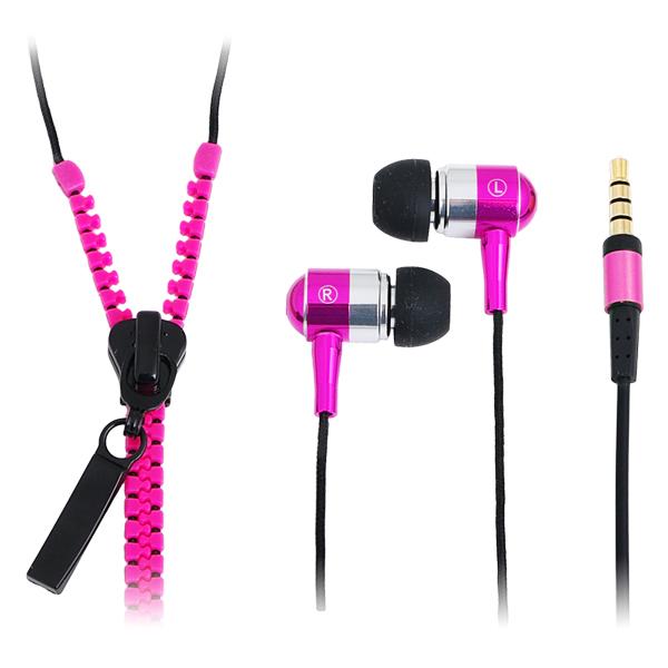 LogiLink ''Zippzár'' Sztereo fülbe dugható fülhallgató mikrofonnal és távirányítóval