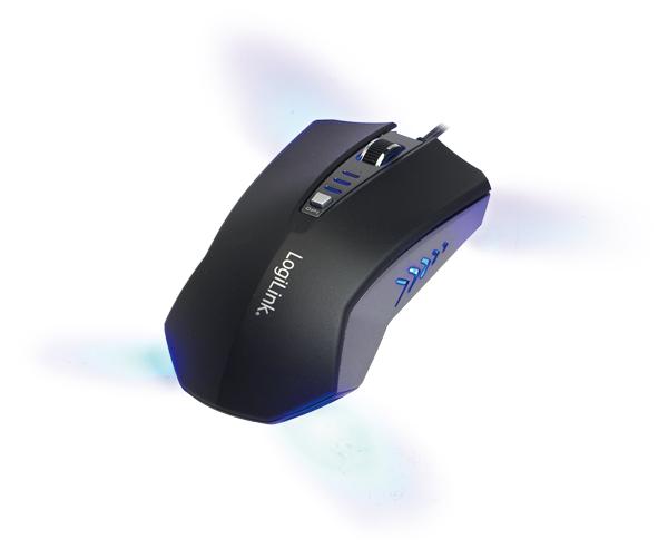 LogiLink USB  Gaming egér állítható DPI-vel