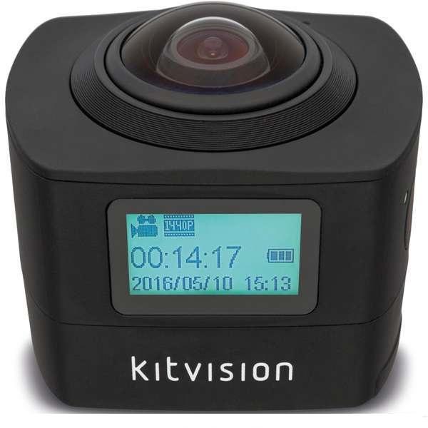 KITVISION IMMERSE 360 akció kamera