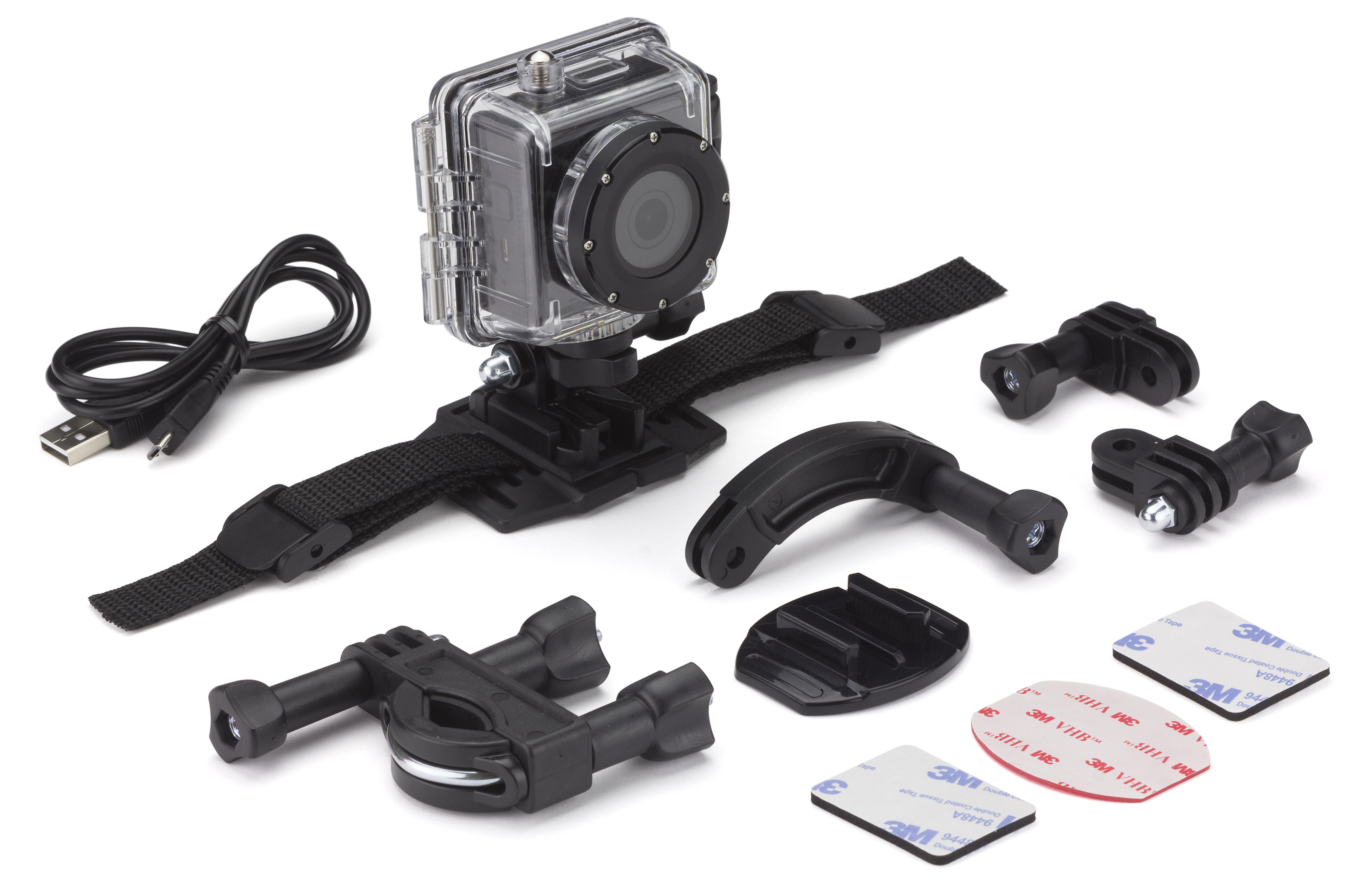 KITVISION SPLASH FULL HD akció kamera – fekete