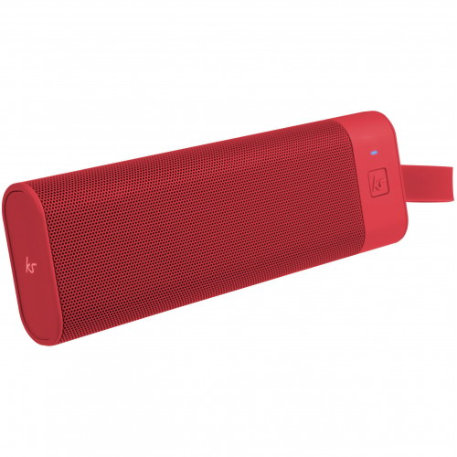 KitSound BoomBar+ Portable Bluetooth Speaker piros