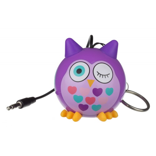 KitSound Mini Buddy Speaker bagoly lila
