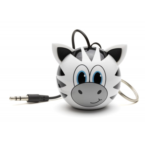 KitSound Mini Buddy Speaker zebra
