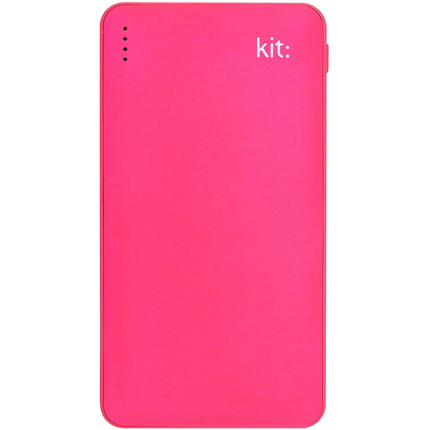 Kit Power Bank Fresh 12000 mAh rózsaszín