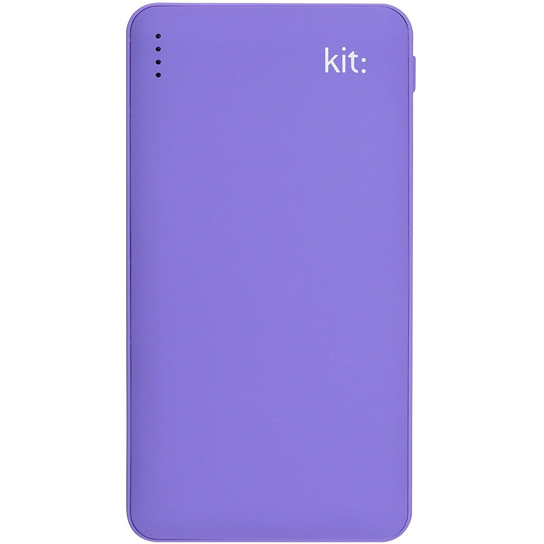Kit Power Bank Fresh 12000 mAh lila