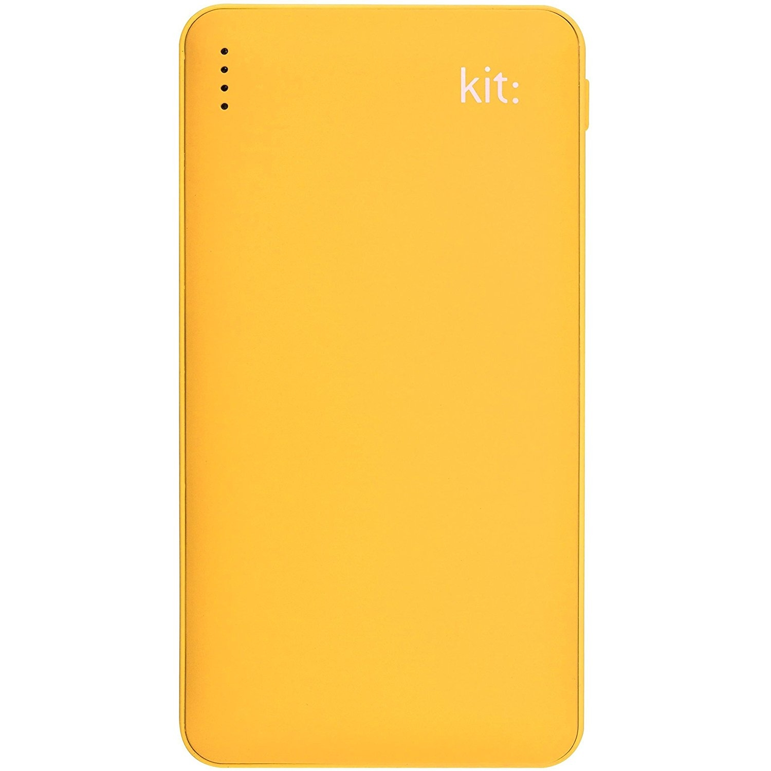 Kit Power Bank Fresh 12000 mAh sárga