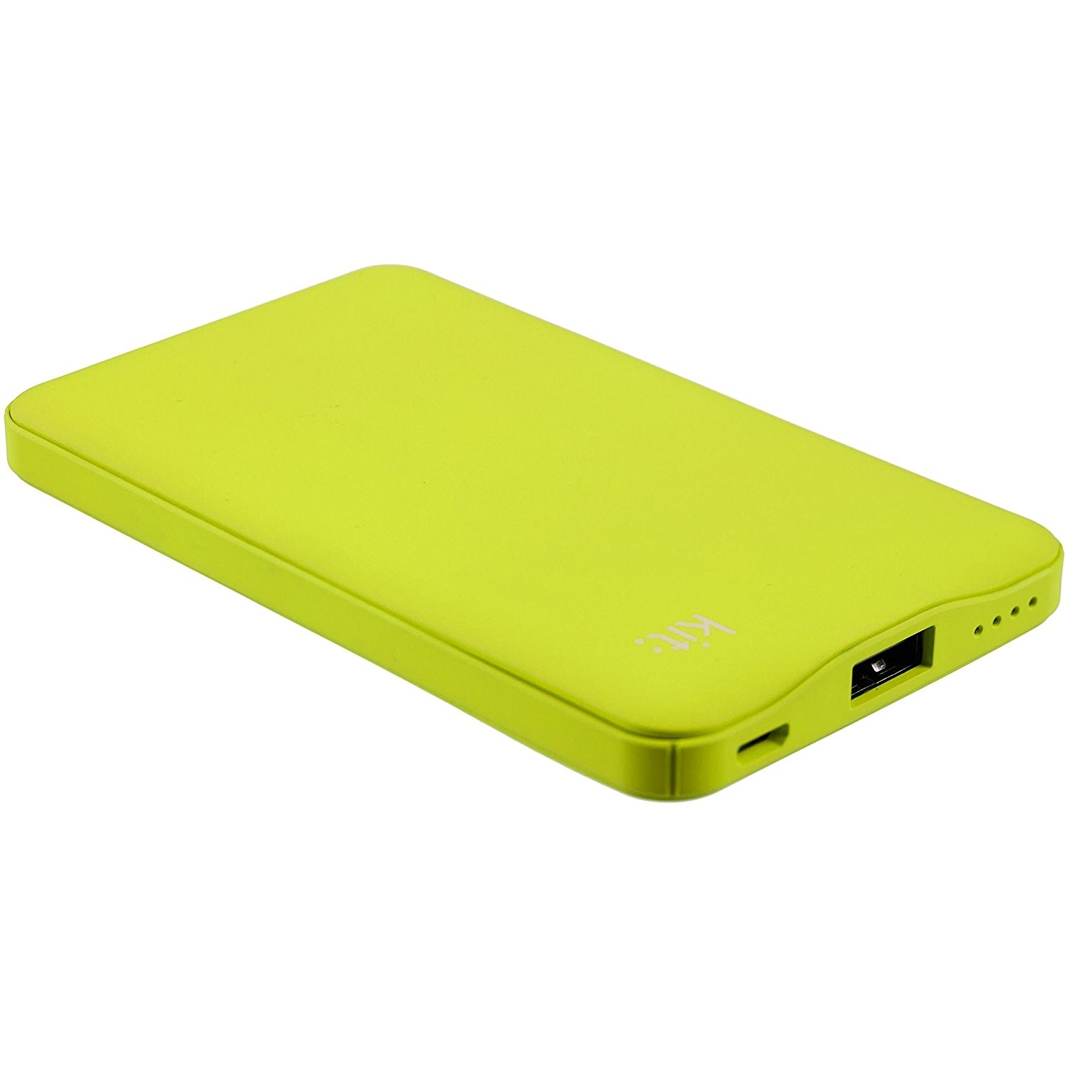 Kit Power Bank Fresh 6000 mAh zöld