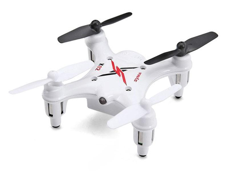 Syma X12S NANO drón/quadcopter 2.4G 4-Channel with Gyro Fehér