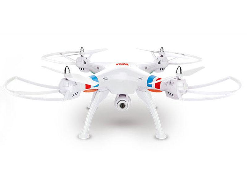 Syma X8C drón/quadcopter  2.4G 4-Channel with Gyro + Camera Fehér