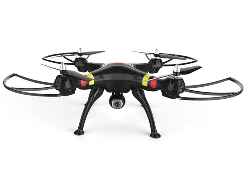 Syma X8C drón/quadcopter 2.4G 4-Channel with Gyro + Camera Fekete