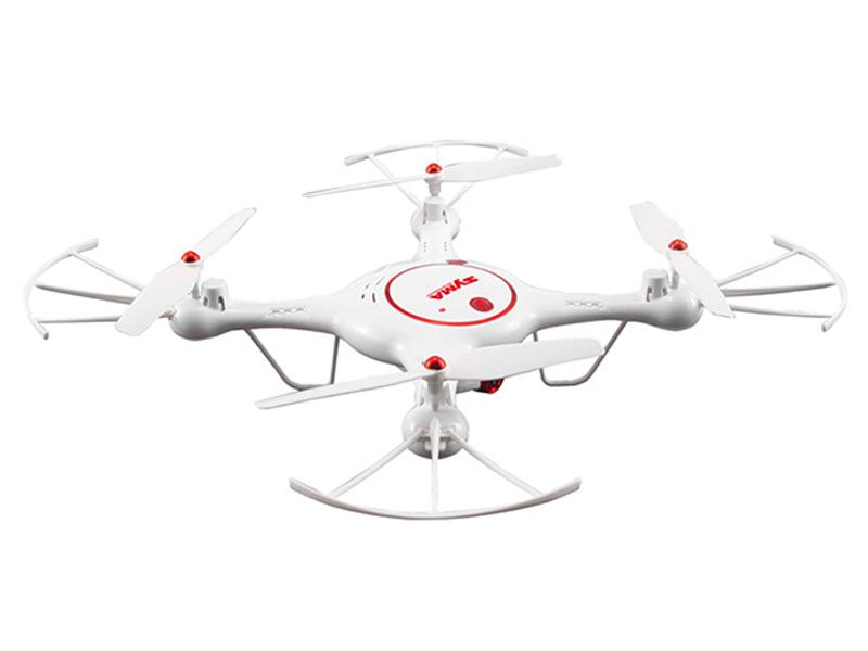 Syma drón/quadcopter X5UC 2.4G + HD Camera White