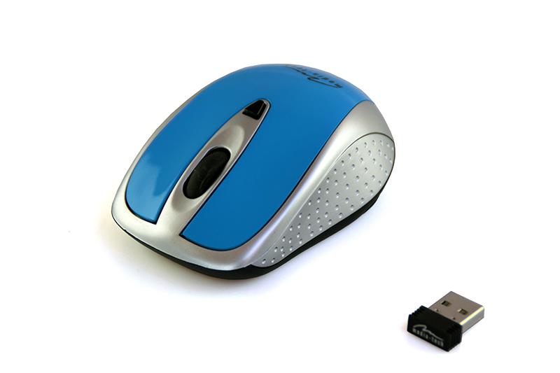 Media-Tech PORT RF (kék) vezeték nélküli egér