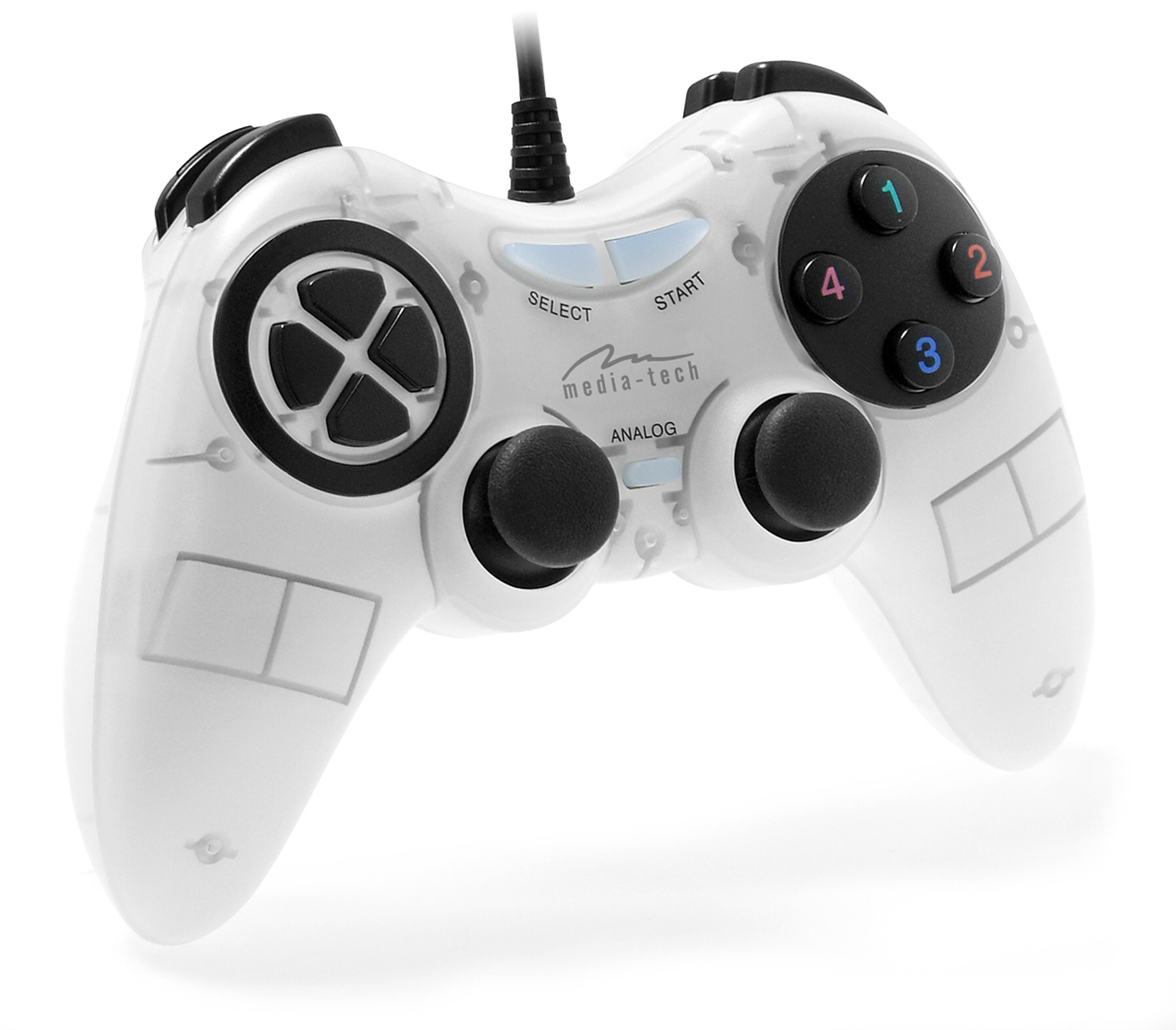 Media-Tech CORSAIR II gamepad (fehér)