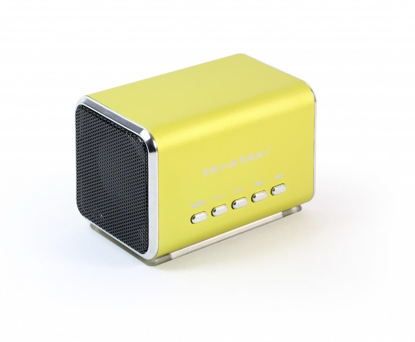 MusicMan Midi Zeneállomás zöld