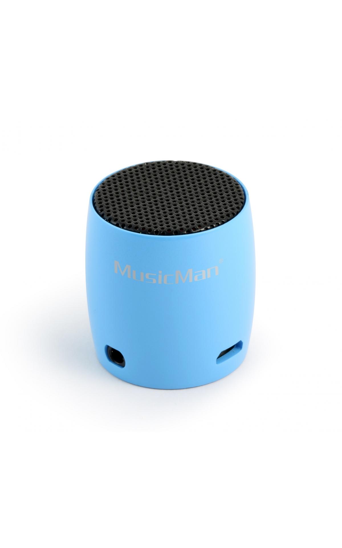 MusicMan NANO Bluetooth Zeneállomás BT-X7 Kék