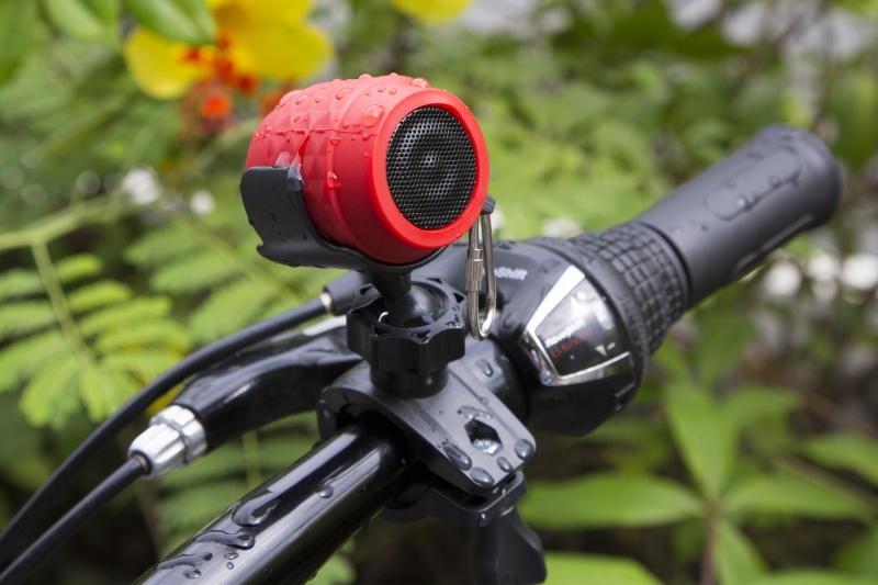 MusicMan NANO BIKE Bluetooth Soundstation waterproof BT-X19 (piros)