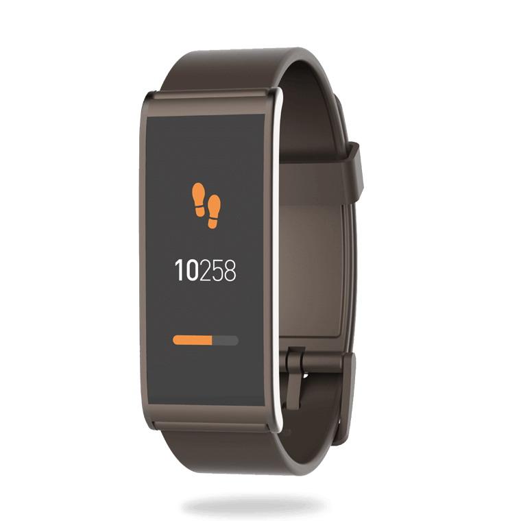 MYKRONOZ Smartwatch ZeFIT4 HR barna