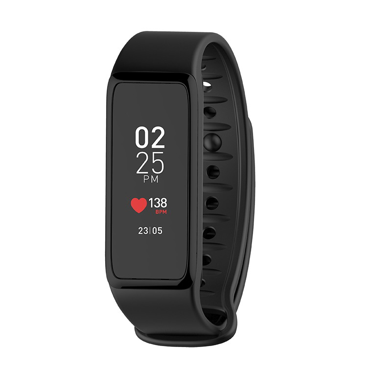 MYKRONOZ Smartwatch ZeFit3 Heartrate fekete + 2 szíj