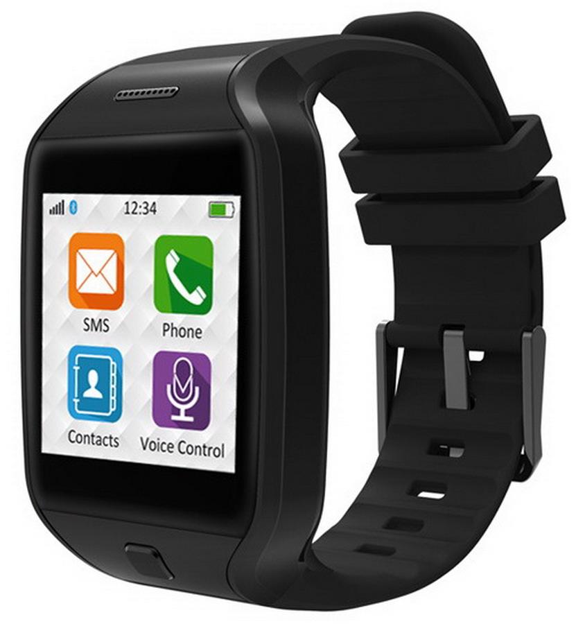 MYKRONOZ Smartwatch ZeTel fekete