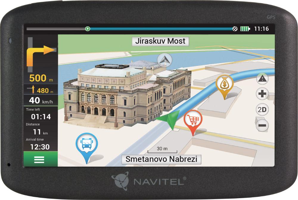 NAVITEL E500 GPS Navigáció