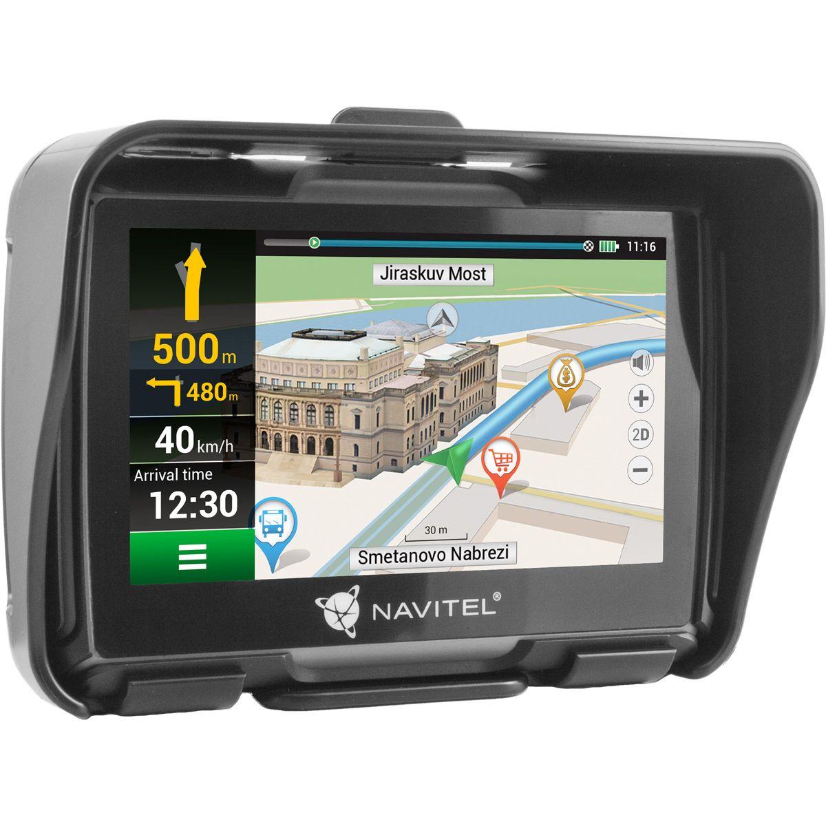 NAVITEL G550 Moto GPS Motorkerékpár Navigáció