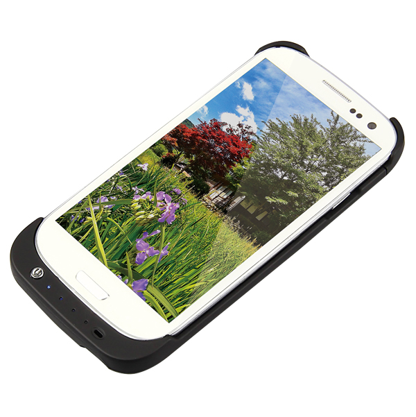 LogiLink Védőtok Samsung S3 telefonhoz beépített akkumulátorral (3200 mAh)