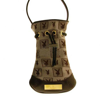 Playboy mobiltok Mini Bag Hi Fashion brown