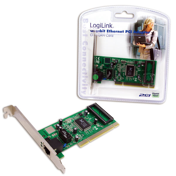 Logilink Gigabit Ethernet PCI adapter