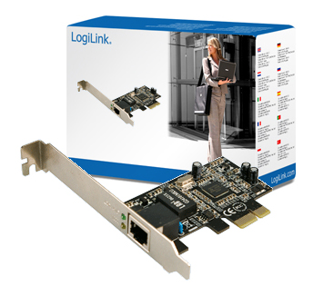 Logilink Gigabit Ethernet PC kártya