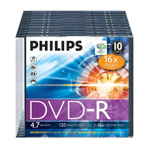 Philips DVD-R47 SLIM 16x