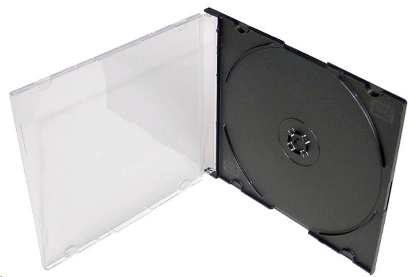 Slim CD/DVD tok fekete