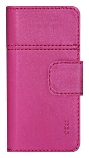 SOX SMART Booklet PU univerzális mobiltok (rózsaszín) M