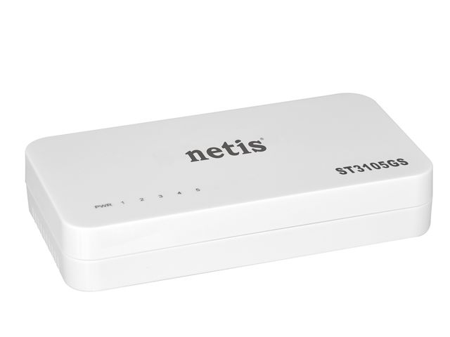 NETIS ST3105GS SWITCH DESKTOP 5-PORT 1GB