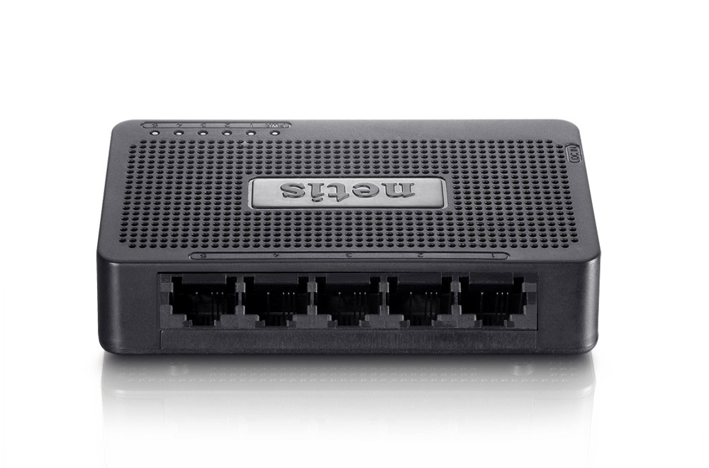 NETIS ST310S SWITCH DESKTOP 5-PORT 100MB