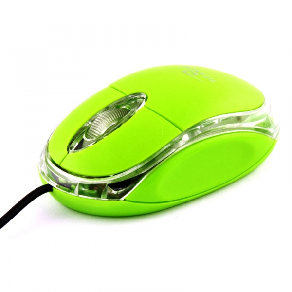 TITANUM RAPTOR 3D USB vezetékes optikai egér (zöld)