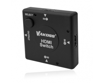 Vakoss 3in-1out HDMI Switch