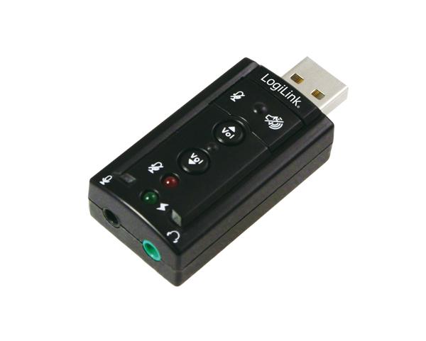 LogiLink USB 2.0 Virtuális Audió Adapter 7.1 csatornás