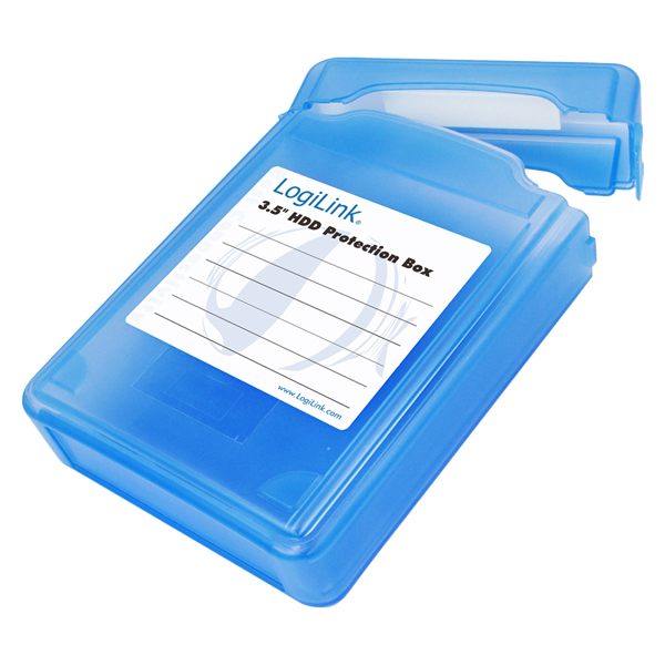 LogiLink 3,5'' HDD védő doboz, 1 HDD-hez
