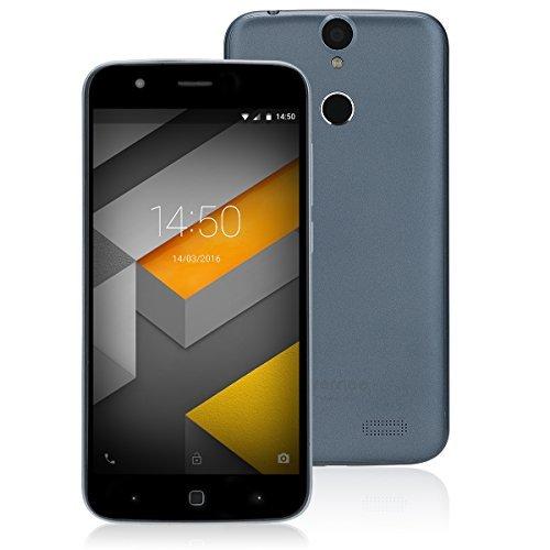 Vernee Thor szürke okostelefon 5'' HD, 3GB/16GB, Android 7, Octa Core 1,3GHz, 2800mAh akku, 4G