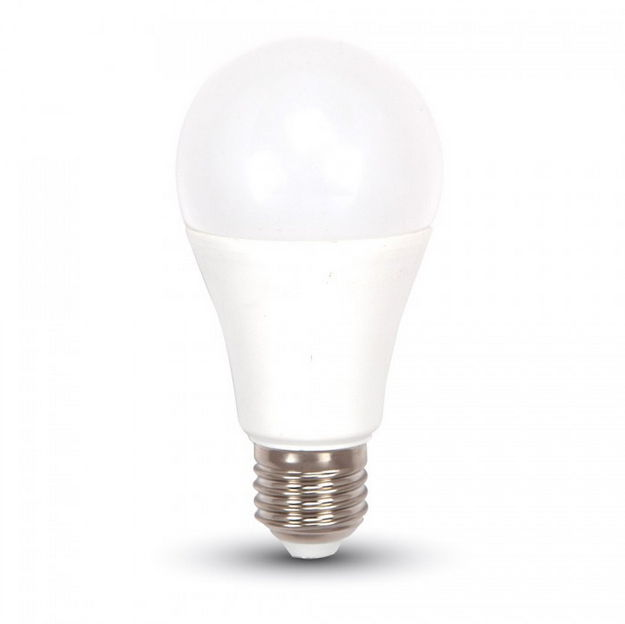 V-TAC Dimmelheto LED izzó – 12W E27 A60 Thermoplastic Természetes fehér