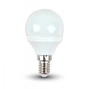 V-TAC 3W E14 P45 Meleg fehér LED izzó